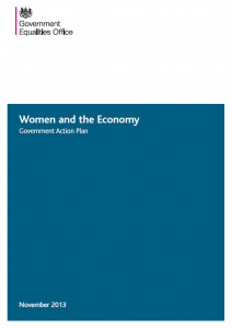 Women and the Economy Government Action Plan Cover