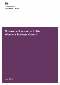 Cover of the government response to WBC